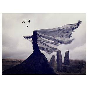 'Raven's Song' Print - nature & landscape