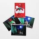 Four Christmas Greetings Cards