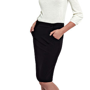 Pencil Black Skirt By Ronit Zilkha