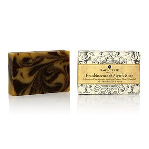 Frankincense And Myrrh Natural Soap - bathroom