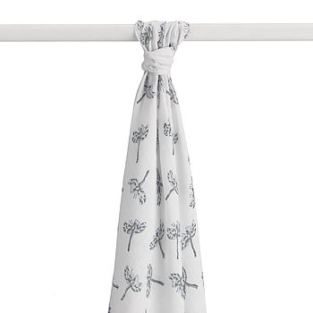 Hand Printed Dragonfly Muslin