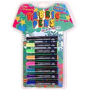 Fabric Pens Neon - toys & games