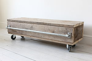 Reclaimed Wood Coffee Table - home