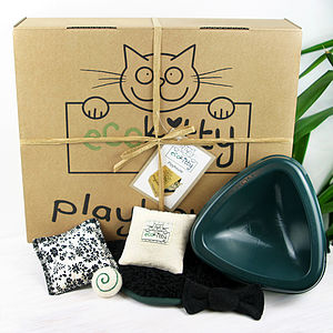 Ultimate Hamper For Cats - toys