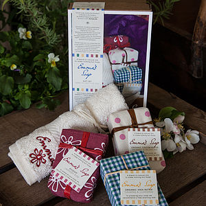 Mixed Bars Of Soap Gift Box - gift sets