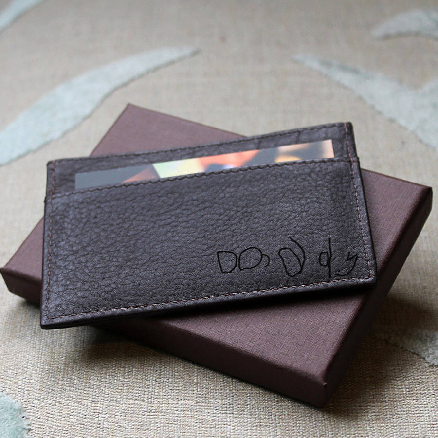 Custom Business Card Holder Leather Images - Card Design And Card ...