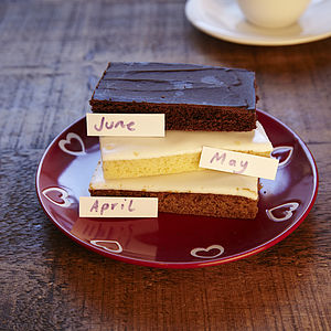 Cake Slice Club Six Months - subscription gifts