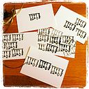 Utensils Print  Five Pack Postcard