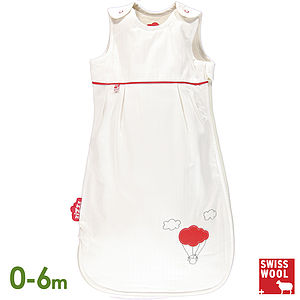 Wool Filled Baby Sleeping Bag, Balloon - soft furnishings & accessories