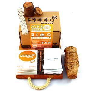 Children's The Me Seeds Starter Kit - gardening