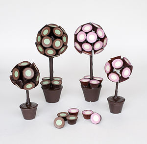 Chocolate Cups Sweet Tree - christmas