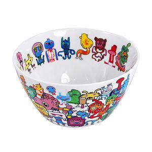 Doodle Bowl - bowls