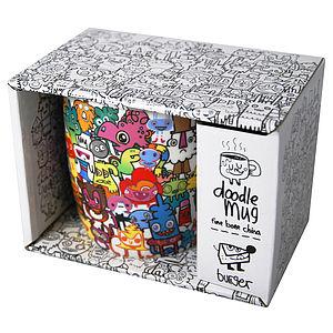 Doodle Mug - mugs