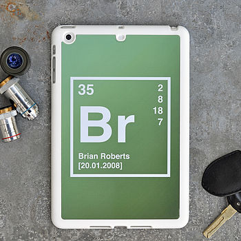 Periodic Table Personalised iPad Mini Case