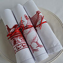 Pheasant And Chicken Napkins