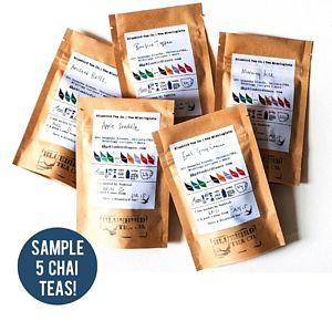 Bluebird's Chai Tea Experience Pack - boxes & hampers