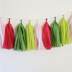 Make Your Own Christmas Tassel Kit - garlands & bunting