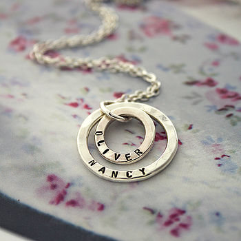 Mummy And Baby Necklace