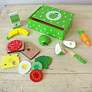 Wooden Lunch Box Play Set