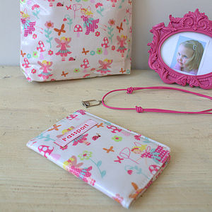 Fairy Passport Cover - passport & travel card holders