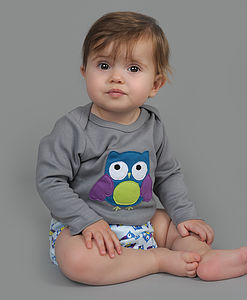 Otto Owl Applique T Shirt - view all sale items