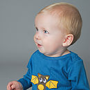 Bongo Bat Applique T Shirt