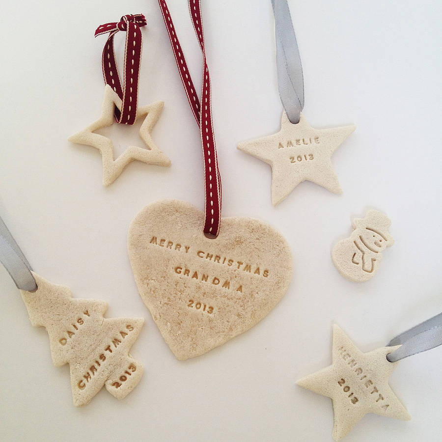 Make your own personalised decorations by stomp stamps Make your own christmas bunting