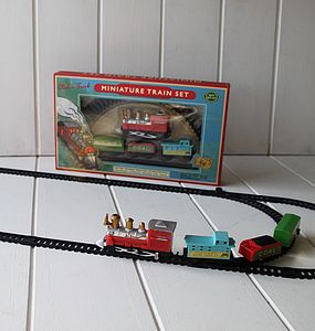 Mini Train Track For Kids - keepsakes
