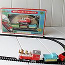 Mini Train Track For Kids
