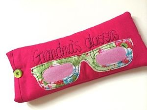 Grandma's Cotton Glasses Case - gifts under £25 for her