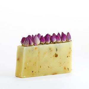 English Rose Organic Soap - bath & body