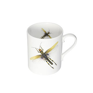 Dragonflies Bone China Mug