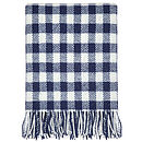 Gingham Check Throw
