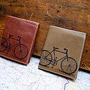 brandy & taupe bicycle