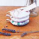 Dotty Bird Lavender Pouch Set