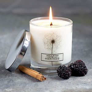 Spiced Mulberry Scented Candle For Winter - view all gifts for her