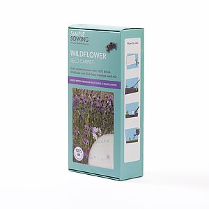 Mixed British Meadow Wildflower Seed Carpet