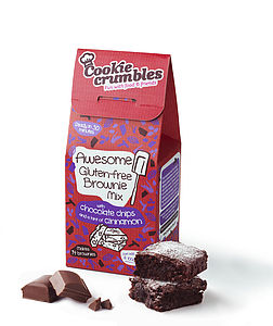 Awesome Gluten Free Brownie Mix - dietary food and drink