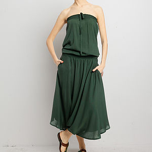 Blouson Bodice Dress