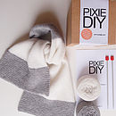 Luxury Scarf Knitting Kit