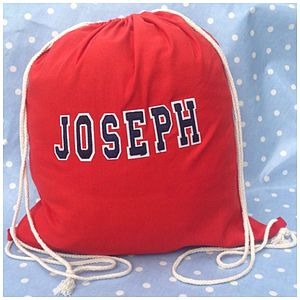 Personalised P E Kit Bag - children's accessories