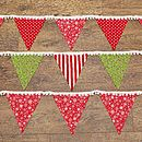 Festive Christmas Noel Bunting Decorations