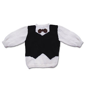 Waistcoat And Tie Jumpers - baby & child