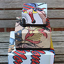 Comic Book Hero Wonderwoman Boxes