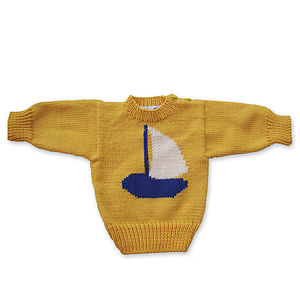 Sailing Boat Jumper - children's jumpers