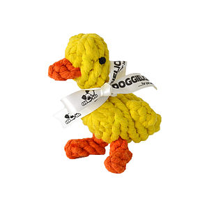 Jemima The Duck   Rope Dog Toy - dogs
