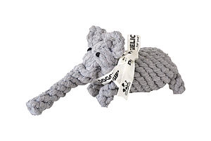Nellie The Elephant   Rope Dog Toy - dogs