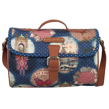 Pip Remember Brighton Small Shoulder Bag Blue