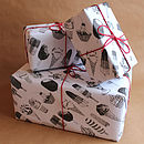 Five Sheets Of Ice Cream Wrapping Paper