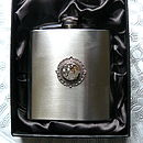 Watch Movement Hip Flask